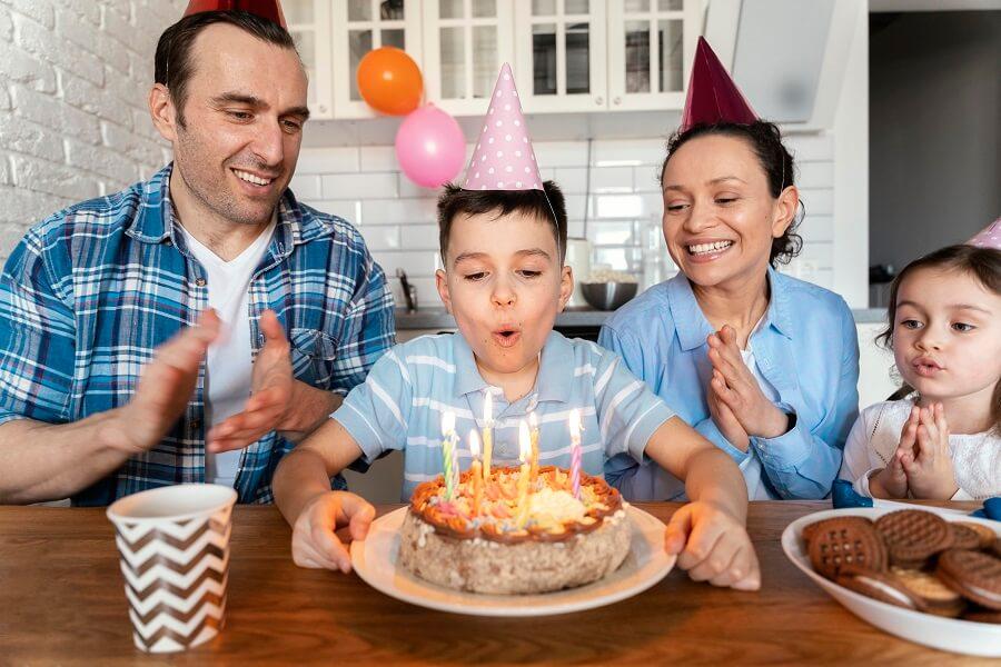 Celebrate Your Child's 5th Birthday